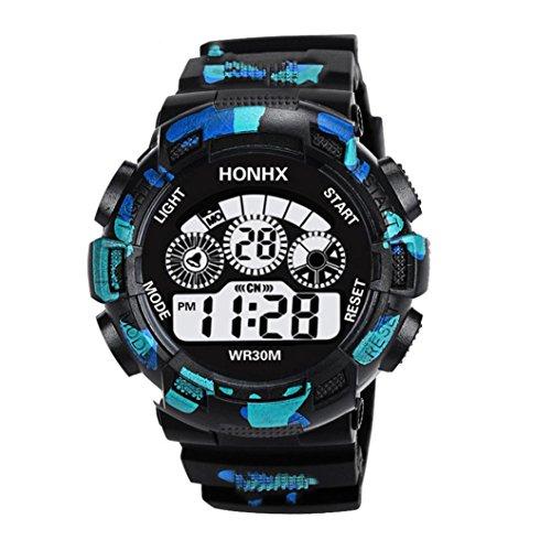 änner Verkauf Luxus Herren Analog Digital Military Army Sport LED Wasserdicht Armbanduhr, Damen, B, AS Show ()