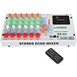 Krown SM-6USB 6 Channel Stereo Echo Mixer with USB Player