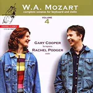 Mozart: Complete Sonatas for Keyboard and Violin, Vol. 4 [Hybrid SACD]