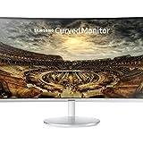 Samsung - C34F791WQ - Ecran Incurvé ultra-large - Dalle VA - 34 Pouces - (3440 x 1440 pixels, 4 ms, 21/9, 2 ports HDMI) - Blanc