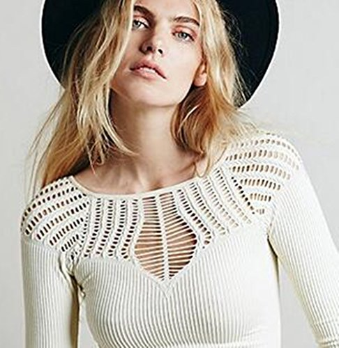 YAXUN y & x des Manches Longues Sport Favori en t - Shirt Blanc