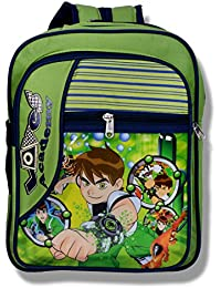 Apoorva Green Latest 3D Bag, School Bag For Boys And Girls ,Kids,School Bag,Blue Colour Cartoon Character Backpack...
