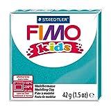Staedtler 8030-39 - Fimo Kids Normalblock, 42 g, türkis