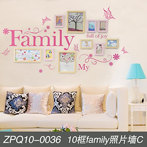 Unbekannt Home Photo wall kreative Wohnzimmer Wanddekoration wall Frame Kit -