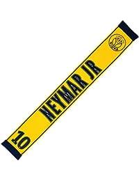 PSG - Official Paris Saint-Germain 'Neymar Jr' Fan Scarf - Yellow