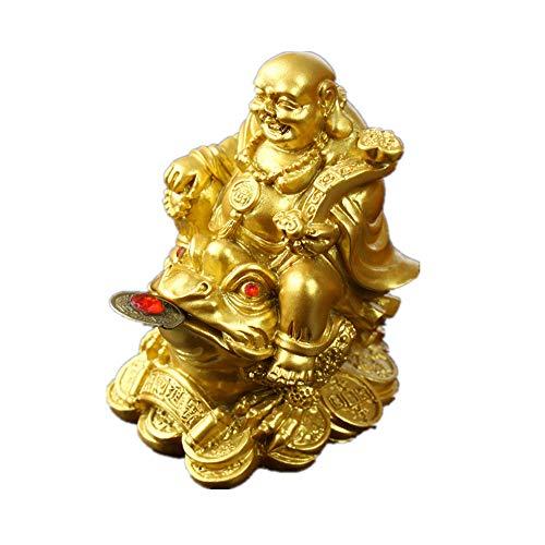 Feng Shui - Estatua Buda reír polirresina Sentado