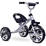toyz 5902021523733 York Tricycle pour Enfant, Gris