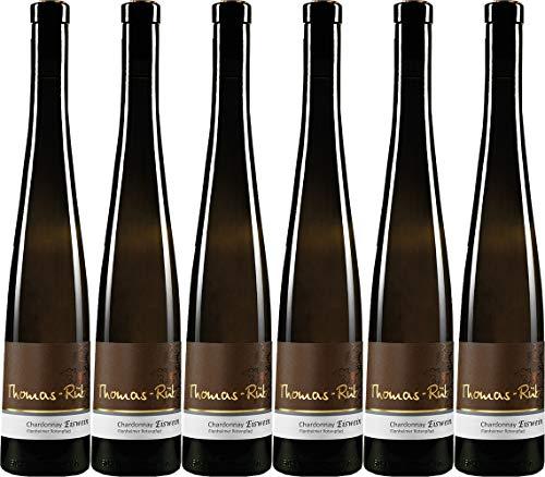 Thomas-Rüb Chardonnay Eiswein, Flonheimer Rotenpfad 0,5L 2018 Edelsüß (6 x 0.5 l)