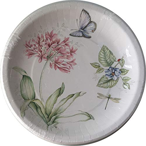 Lenox Butterfly Meadow Pink 16Beschichtete Abendessen Teller Lenox Butterfly