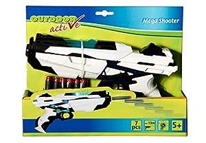 VEDES Großhandel GmbH - Ware Outdoor Active Mega Shooter, Incluye 6Dardos