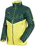 Mammut Herren Broad Peak Light Daunen-Jacke, Dark Teal Canary, L
