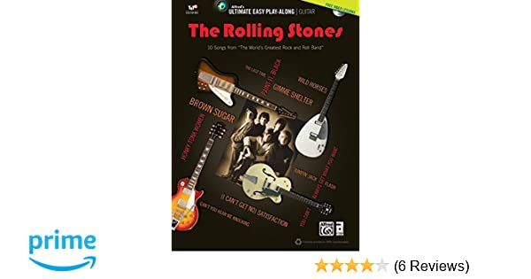 Ultimate Easy Guitar Play-Along -- The Rolling Stones: Easy Guitar ...