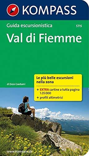 Guida escursionistica n. 5715. Val di Fiemme