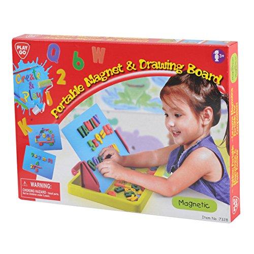PlayGo 7328-Portátil y Caracteres tablón magnético