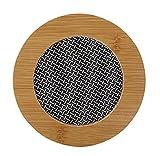 Black Temptation Dickes Holz-Kunststoff-Teller Tischset, Küche Isolierung Pad, F7