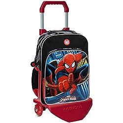 Marvel 24524M1 Spiderman Mochila Escolar, 15.6 Litros, Color Azul