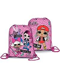 Preisvergleich für Lol Surprise, Kinderrucksack Pink Rosa 39x31