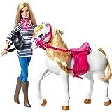Barbie - Cfn42 - Poupée Mannequin Et Son Cheval