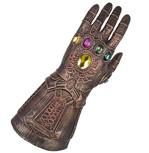 Yacn thanos guantelete para cosplay, juego de hombres Marvel Heroes Infinity Gauntlet, guantes cosplay