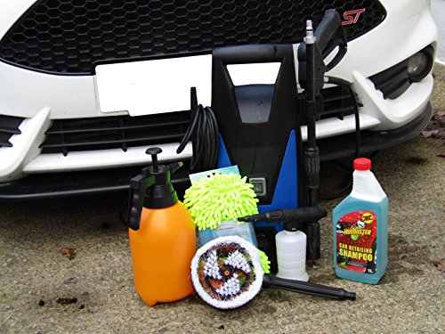 xtremeauto-portable-pressure-power-washer-pump-detergent-sprayer-wheel-scrub-hand-mitt-includes-xtre