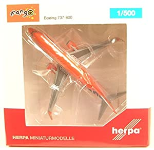 Herpa 531351 B737-800 Mango, Color Funda para Tablet