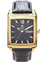 Royal London 40158-04 - Reloj para hombres, correa de cuero