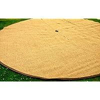 Bell Tent, tapete felpudo de fibra de coco semicircular