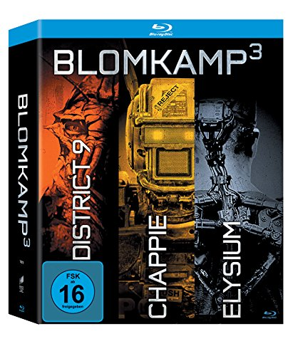 Chappie / District 9 / Elysium (exklusiv bei amazon.de) [Blu-ray]