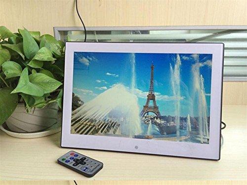 FGDJTYYJ LED-HD-Digital-Foto-Rahmen-Spiegel-Flugzeug Multimedia-Stützmusik und Video-Wiedergabe Sd-codierte Karte u. Fernantrieb für irgendwelche Geschenke Anlässe, 12 inch