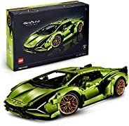 LEGO 42115 Technic Lamborghini Sián FKP 37 Race Car, Advanced Building Set for Adults, Exclusive Collectible M