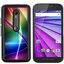 Stuss Case / Funda Carcasa protectora - Modelo del arco iris iridiscente - Motorola MOTO G3 ( 3nd Generation )