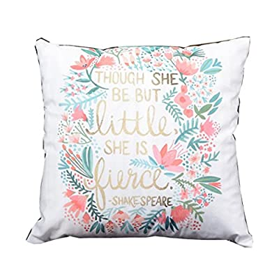 Sansee Simple Print Sofa Bed Home Decoration Festival Pillow Case Cushion Cover 18*18'' (N) - cheap UK light store.