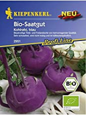 Kohlrabi blau Bio-Saatgut