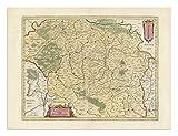 the Blaeu Prints | Fulda, Bayern - Historischer Kartendruck