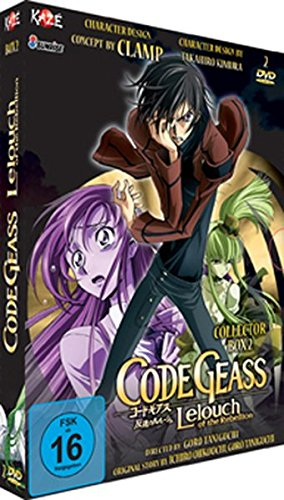 Code Geass: Lelouch of the Rebellion – Staffel 1 – Vol. 2 (2 DVDs)