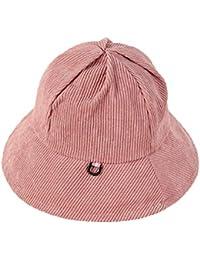 d133b20d096 Oyfel Bucket Hats Corduroy for Men Women Funky Unisex Caps Cotton Sun Hat  Summer Outdoor Fishing