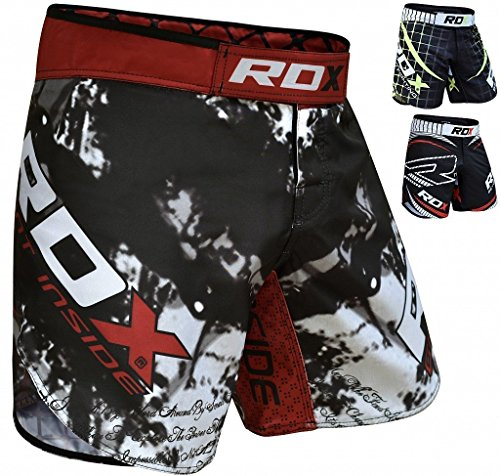RDX MMA UFC Pantalones Corto Boxeo Entrenamiento Muay Thai Shorts Running Fitness Kickboxing