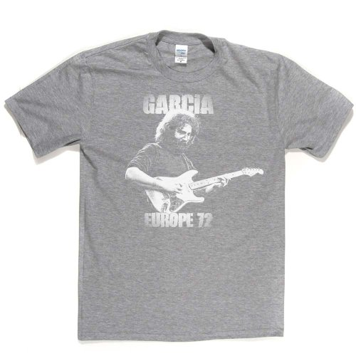 Garcia Europe 72 Guitar Legend T-shirt Aschgrau