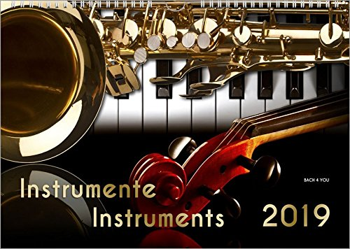 Instrumente - Musik-Kalender 2019, DIN-A3: Instrumente - Instruments