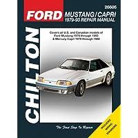 Ford Mustang 79-93 & Mercury Capri 79-86