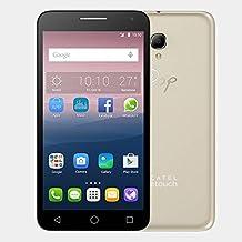 Alcatel POP 3(5) 8GB - Smartphone (SIM doble, Android, MicroSIM, GSM, HSPA, HSPA+, UMTS, Micro-USB) Oro