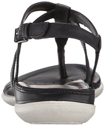 Ecco Flash Synthétique Sandale Black