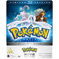 Pokemon Movie 1-3 Collection - Limited Edition Blu-ray Steelbook