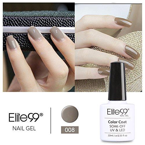 Elite99 Smalto Semipermanente Serie Elegante Grigio Colore Gel