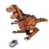 Modbrix R/C Technik Bausteine Ferngesteuerter Dinosaurier T-Rex mit Sound 2,4 Ghz mit Power Funktion 1092 Teile