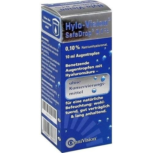 HYLO-VISION SafeDrop 0,1% Augentropfen 10 ml