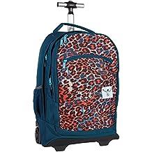Chiemsee Mochila trolley Wheely Azul / Leopardo
