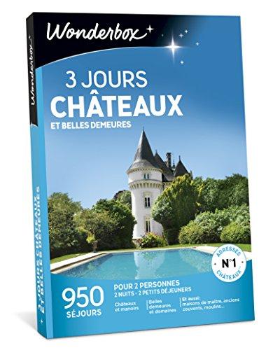 Wonderbox - Coffret cadeau Noël - 3 JOURS CHÂTEAUX ET BELLES DEMEURES - 950...