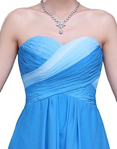 Dressystar dst1001blue10–Robe Empire Line pour femme Bleu