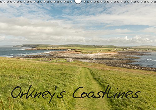 Orkney's Coastlines (Wall Calendar 2019 DIN A3 Landscape): Calendar of Orkney's most fascinating coastlines (Monthly calendar, 14 pages ) (Calvendo Places)